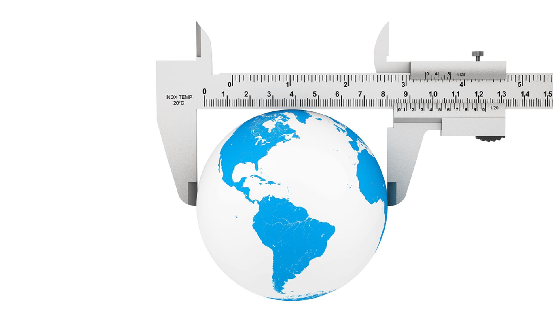 Karbič geodezija merilo